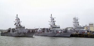 Cyclone class coastal patrol ships