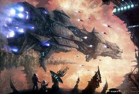 Moonxels epic sci-fi