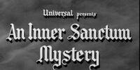 Inner Sanctum Mystery
