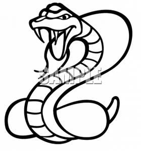 File:0511-0703-1312-3722 Poisonous Cobra Snake clipart image.jpg