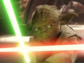 Yoda vs Dooku