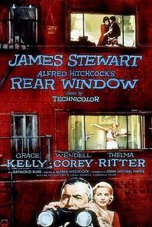 Rear Window film poster