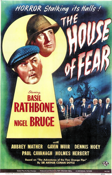 Sherlock Holmes and the House of Fear - 1945 - Poster