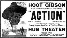Action (1921 film) ad