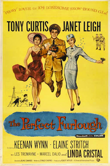 The Perfect Furlough - 1958 - Poster