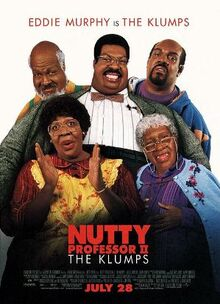 Nutty professor 2 the klumps poster