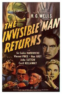 The Invisible Man Returns movie poster