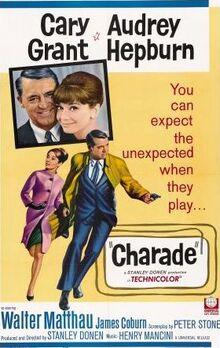 Charade movieposter