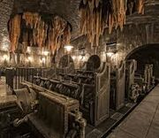 Universal Studios Harry Potter & the Escape from Gringotts Roller Coaster Cars