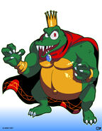 COMMISSION King K Rool by TheBlackMarket