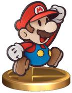 Paper Mario Trophy (Smash)