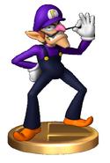 Waluigi (Smash) Trophy