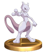Mewtwo Trophy (Smash)