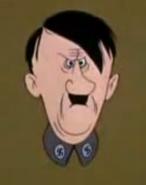 Cartoon Adolf Hitler