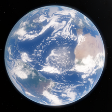 (NEW!) Space Engine Earth!