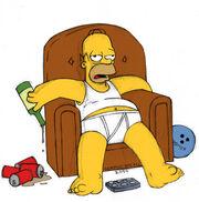Drunk Homer