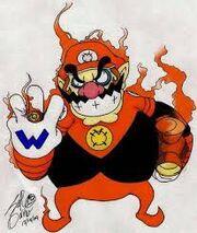 Red lantern wario