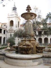 Courtyard of Pasadena City Hall