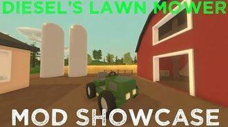 Diesel's Lawn Mower - Unturned Mod Showcase