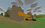 Bellevue Golf Course - digger - from outside