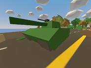 Confederation Bridge - war tank