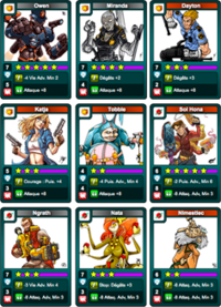 Pack meteoric attack fullXP Cards