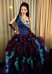 Karina Cooper gown