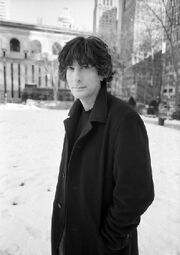 Neil Gaiman snow