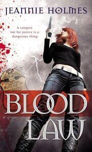 Blood Law (Alexandra Sabian -1) by Jeannie Holmes