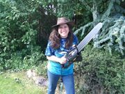 Karina fabian chainsaw