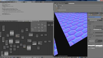 Blender seamless texture bricks