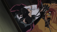 Tora pulling Ushio with the others out of the painting