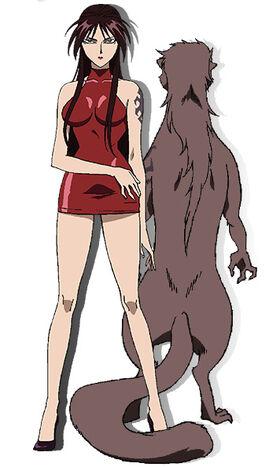 Kagari anime design