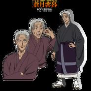Shigure anime design