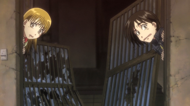 File:Episode 1 - Asako and Mayuko shocked.png