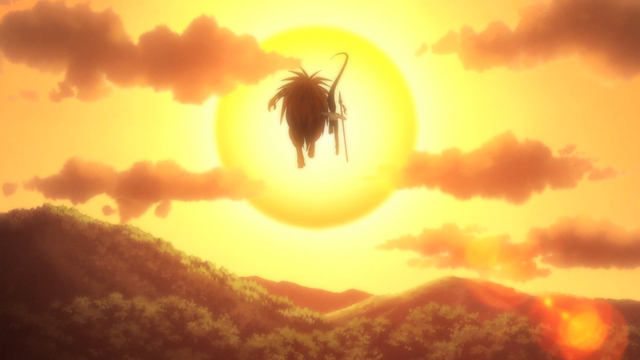 File:Episode 2 - Tora and Ushio fly away to the sunset.png