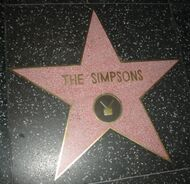 Walk of fame - The Simpsons