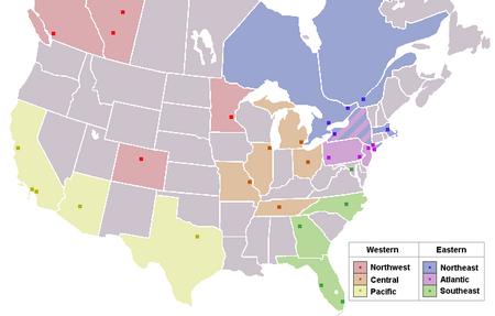 National Hockey League team locations