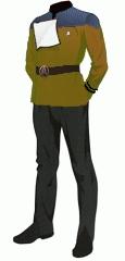 Uniform dress gold cwo
