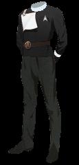 Uniform Dress Officer Black