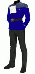 Uniform dress blue ensign