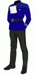 Uniform dress blue po 1