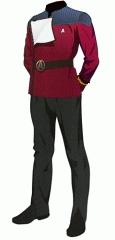 Uniform dress red lt jg