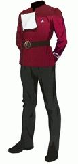 Uniform dress red po 2