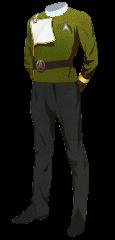 Uniform Dress Admiral Gold