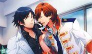 Reiji scares Tokiya