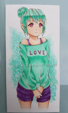 Haru Koharu, made by Rainbow Heart
