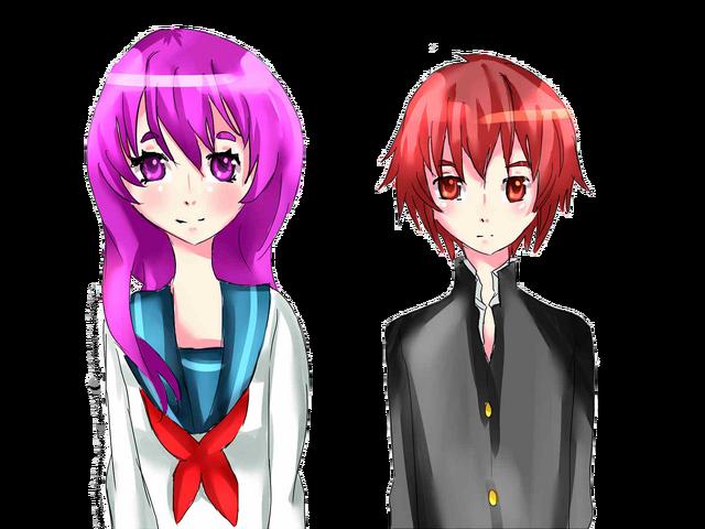 File:Sibling chou nanako and natsune by ikahueki-d4r12mg.png