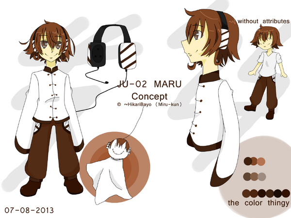 JU-02 MARU Concapt
