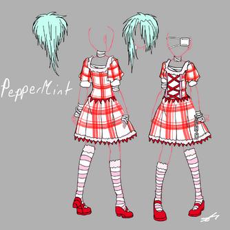 PepperMint's Dress